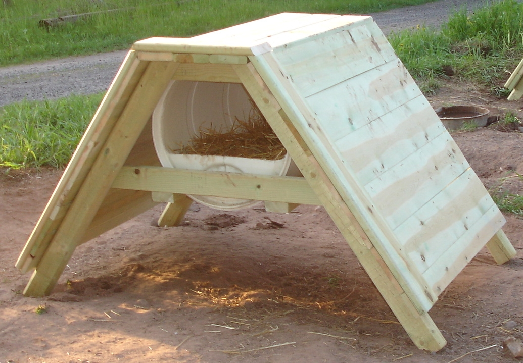 How to build a sled dog house plans materials design video for Building an a frame house